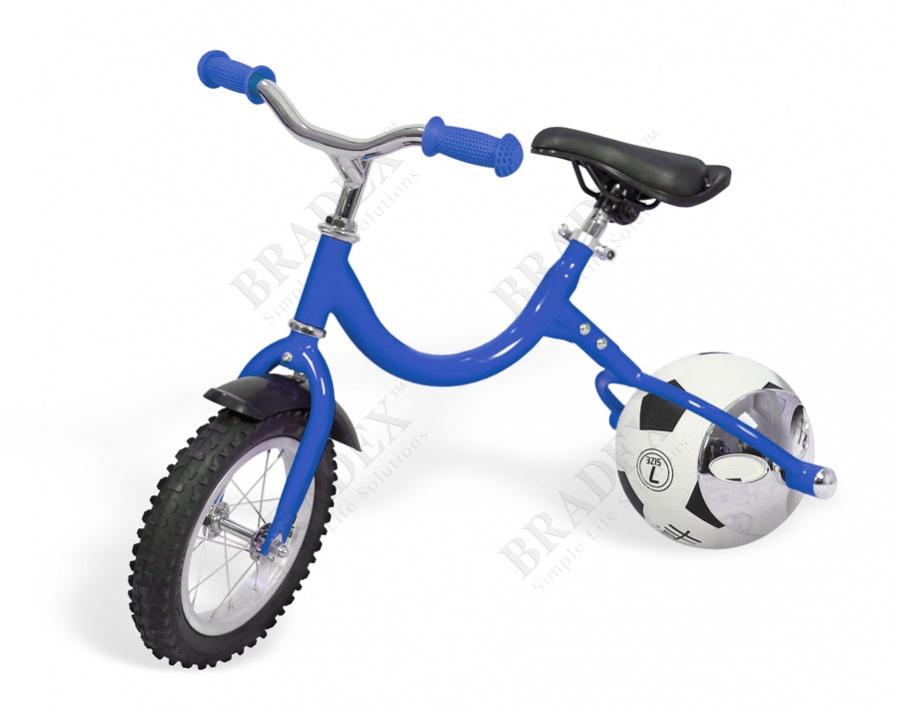 Беговел с колесом в виде мяча «велоболл» синий bike on ball купить оптом