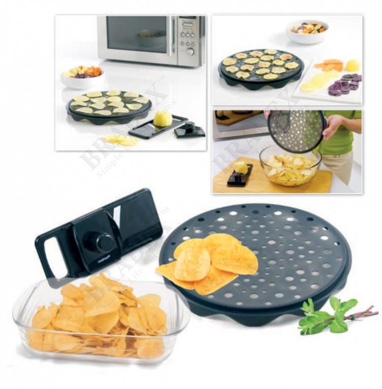 Набор для приготовления чипсов в микроволновой печи (mastrad top chips maker set)