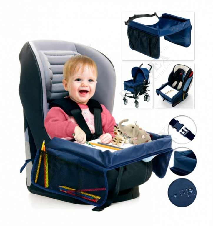 Столик дорожный для детского автокресла «весёлое путешествие» (play n snack tray)