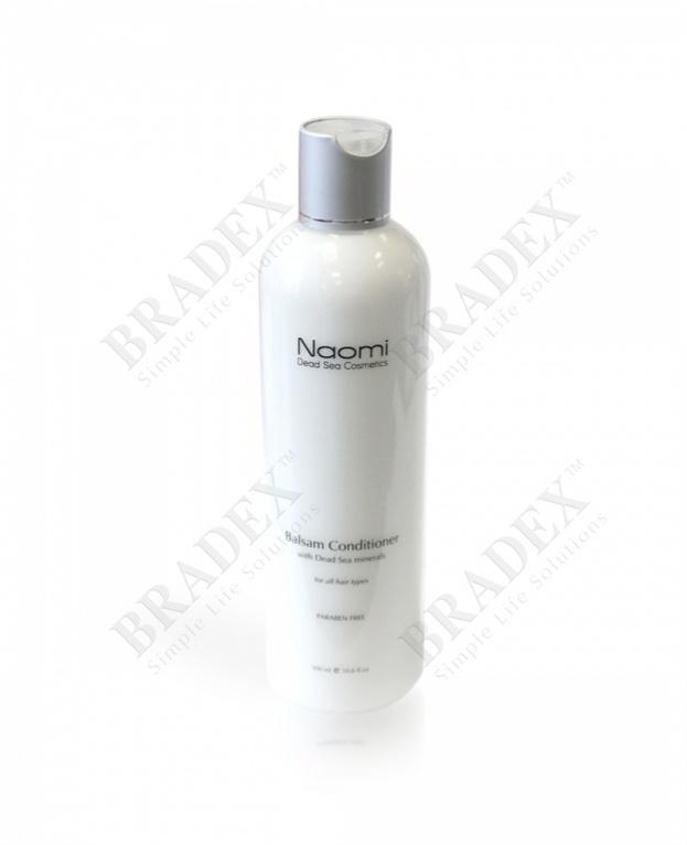 Бальзам-кондиционер для всех типов волос «naomi», 300 мл. (balsam conditioner)