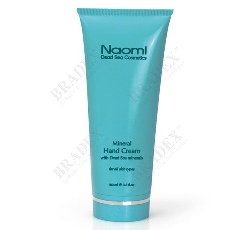 Крем для рук с минералами мертвого моря «naomi» 100 мл (mineral hand cream)