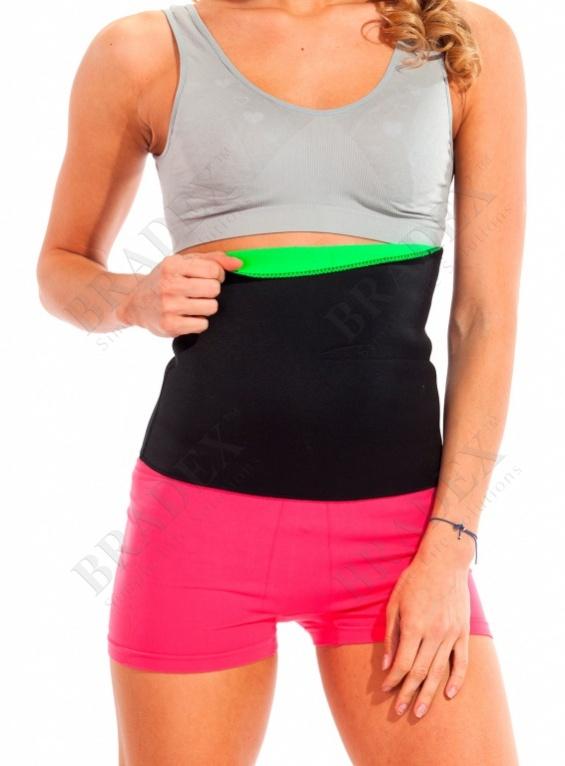 Пояс для похудения «body shaper», размер s (зелёный) (body shaper belt green)