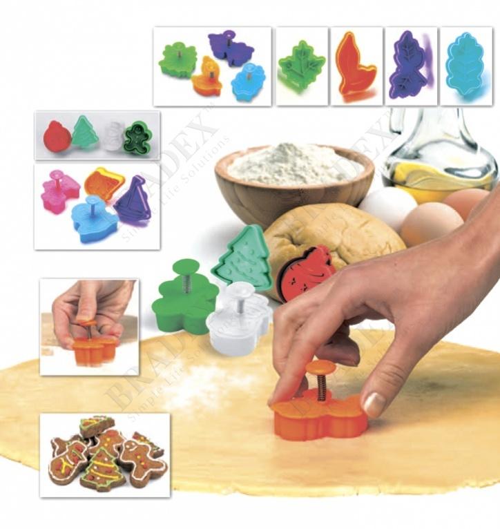 Набор форм для печенья и мастики «новогодняя сказка» (molds for cookies)