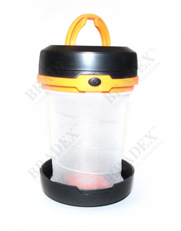 Фонарик складной оранжевый «маяк» (orange foldable lamp)