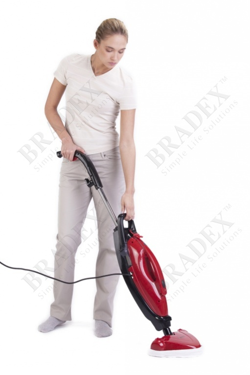 Швабра для пола, красная «ураган» (h2o mop ultra)