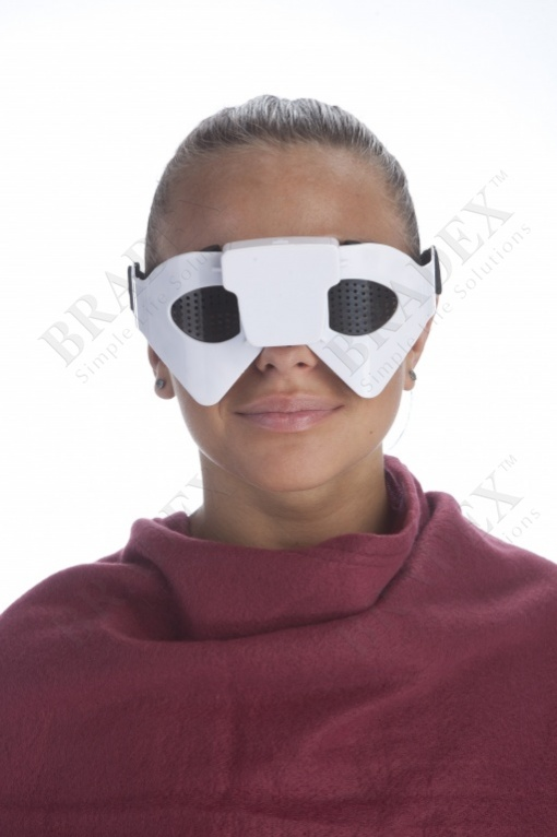 Очки-массажер для глаз «взор» (eye massager and pinhole glasses)