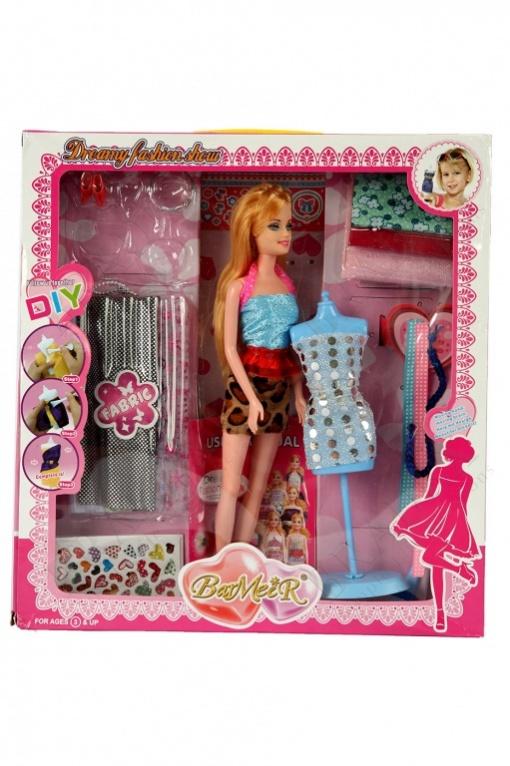Набор для создания кукольного платья «я дизайнер» с куклой (i am a designer)