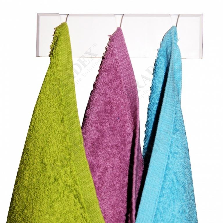 Вешалка для полотенец (plastic towel hanger)