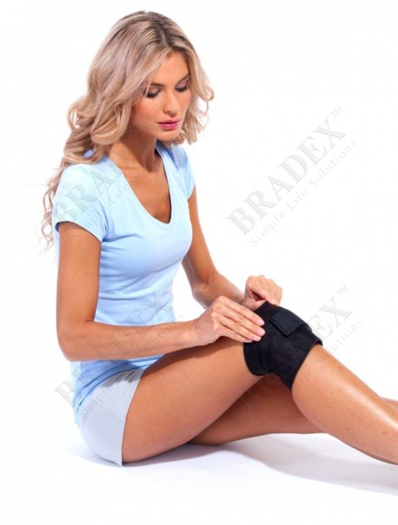 Бандаж под колено с магнитом для снятия напряжения «би эктив» be active brace купить оптом
