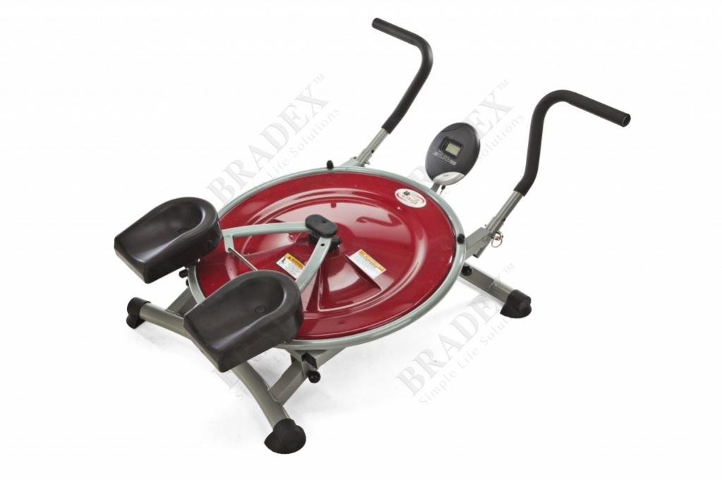 Тренажер для мыщц живота, круговой «маятник» (ab circle pro)
