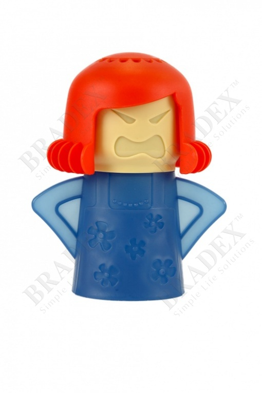 Очиститель микроволновой печи «грозная мама», красный (angry mama, red)