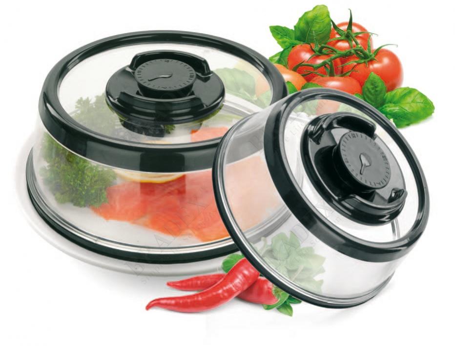 Набор вакуумных крышек-прессов (set of vacuum lids)