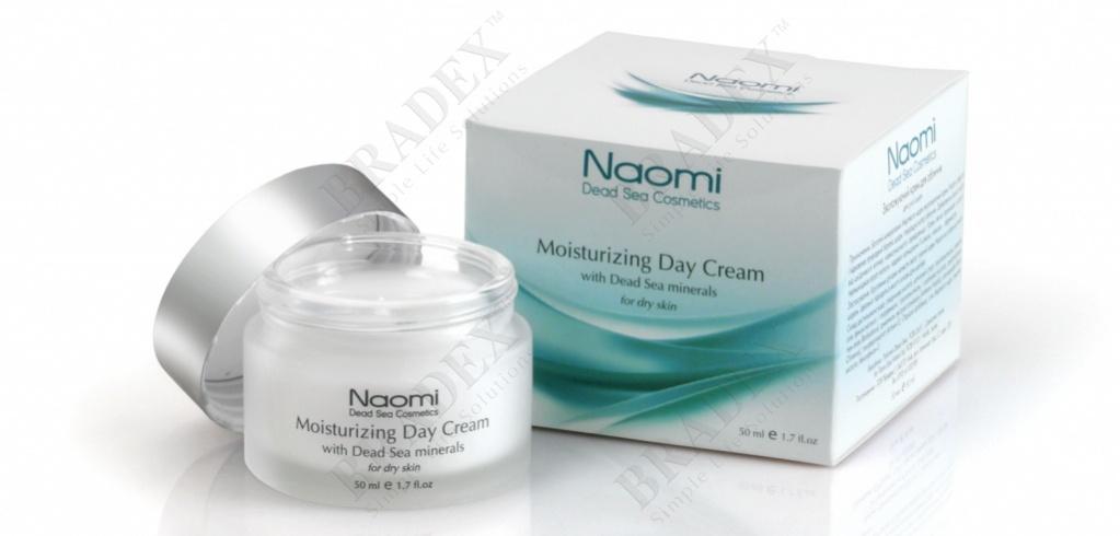 Крем дневной для сухой кожи, увлажняющий с минералами мертвого моря «naomi» 50 мл (moisturizing day cream with dead sea minerals (for dry skin))