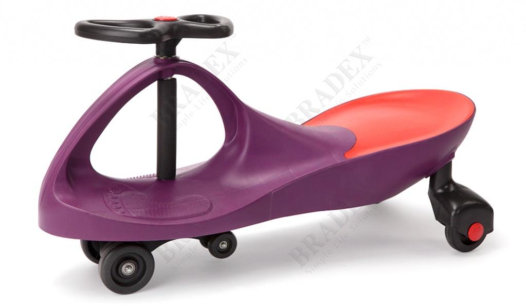 Машинка детская, фиолетовая «бибикар» (bibicar,violet colour)