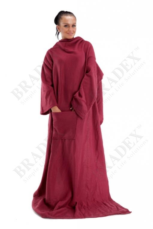 Одеяло с рукавами «уютная зима»