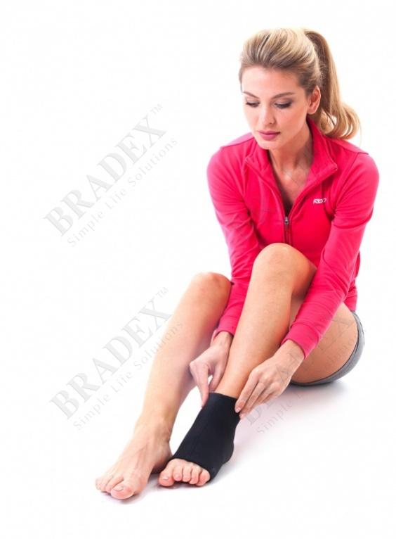 Носок утягивающий с ионами меди (copper compression wear - for ankle)
