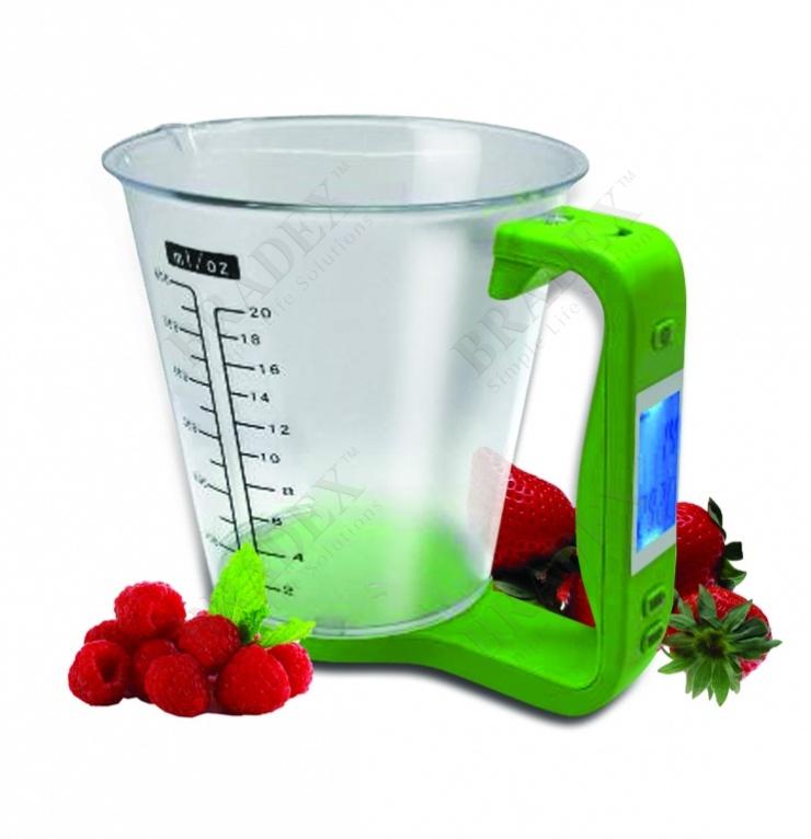 Весы-чашка электронные «абсолют» (multi functional digital kitchen scale)