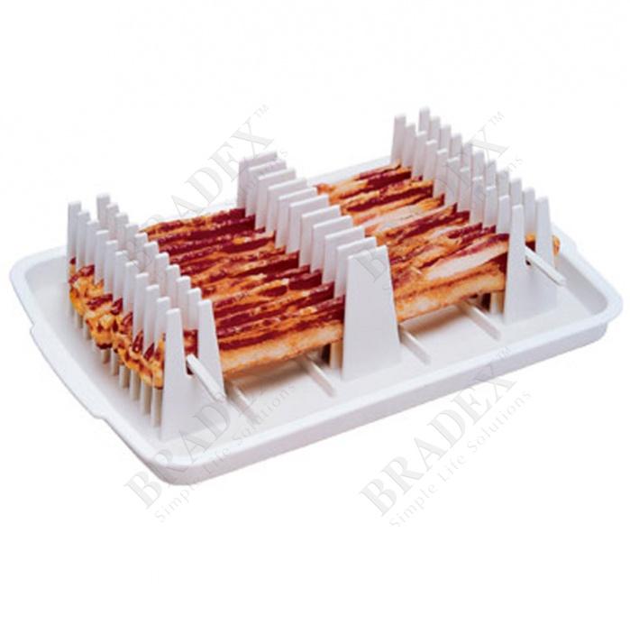 Набор для жарки бекона в микроволновой печи «bacon chef» (bacon wave)