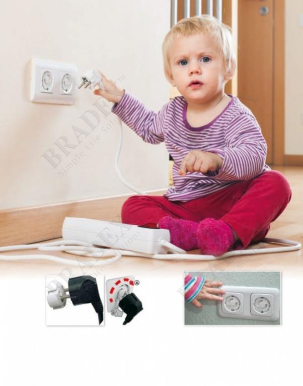 Накладки на розетку защитные 6 шт (protection for sockets, 6pcs)
