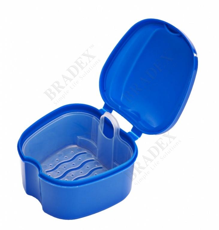 Контейнер для съёмных протезов «мои зубки» (denture case)
