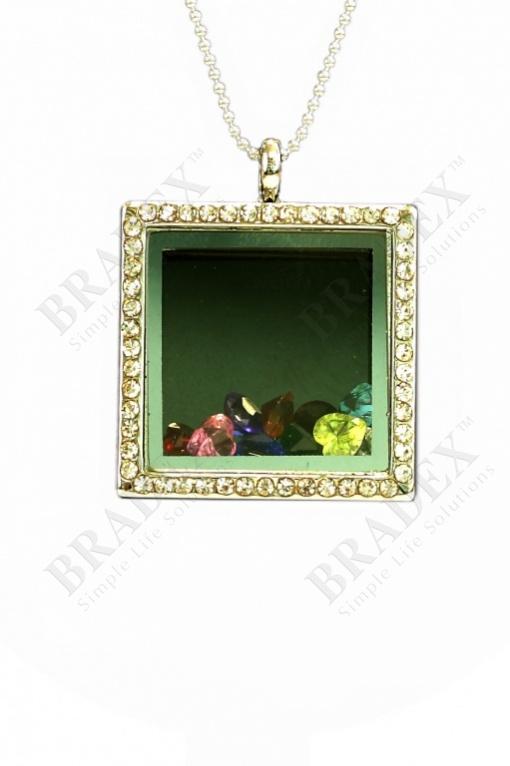 Колье «калейдоскоп» pendant with chain 80 cm купить оптом