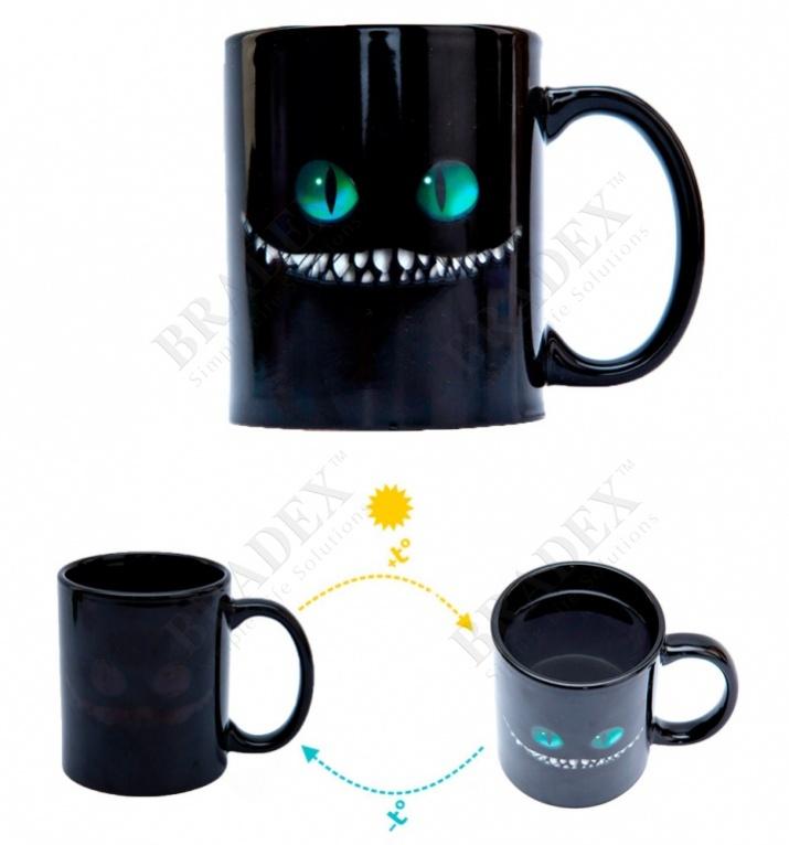 """Кружка-хамелеон «чеширский кот» (cup """"cheshire cat"""")"""