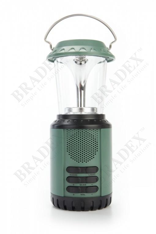 Фонарь многофункциональный «пилигрим» (led lantern with radio)
