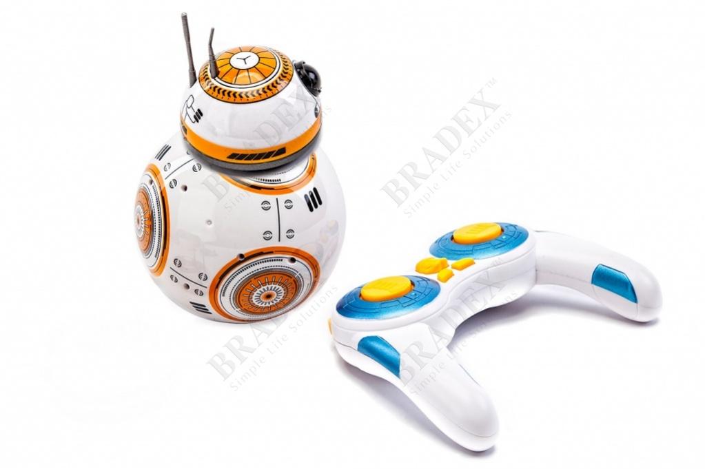Радиоуправляемый робот «звездный воин» (bb 8 star wars)