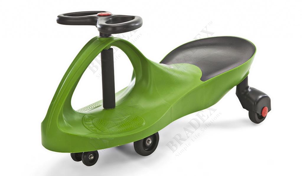 Машинка детская зелёная «бибикар» (bibicar, green colour)
