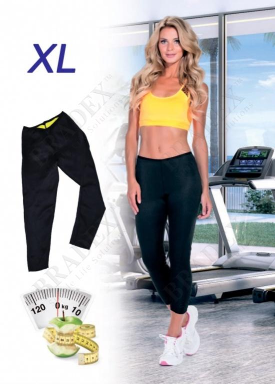Леггинсы длинные для похудения «хот шейперс», размер xl (body shaper, xl)