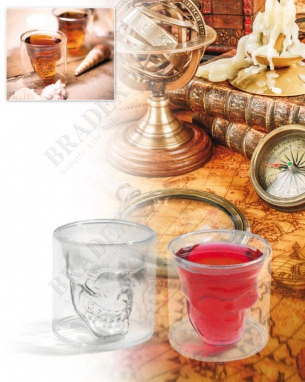 Стакан «череп» (doomed crystal skull shot glass)