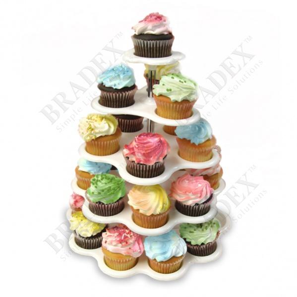 Подставка для пирожных «башенка» (cupcake stand)