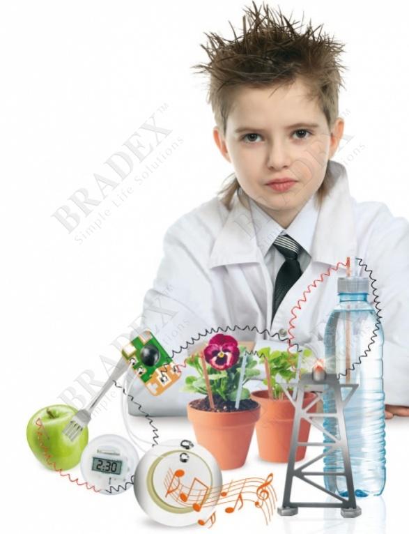 Набор для проведения опытов по выработке электричества «маленький гений» (power generation experiment combination)