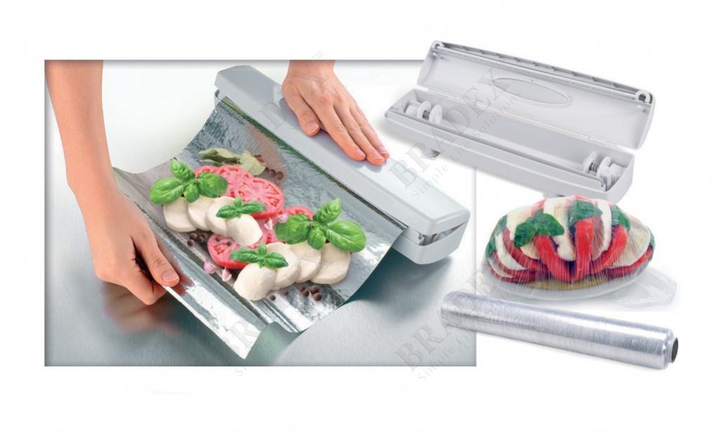 Приспособление для упаковки продуктов «виток» (wraptastic)