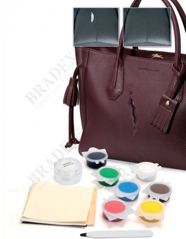 Набор для ремонта изделий из кожи и кожзама «жидкая кожа» (liquid leather)