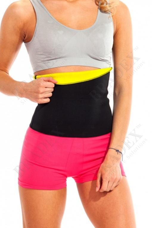 Пояс для похудения «хот шейперс», размер m (жёлтый) (hot shaper belt yellow)