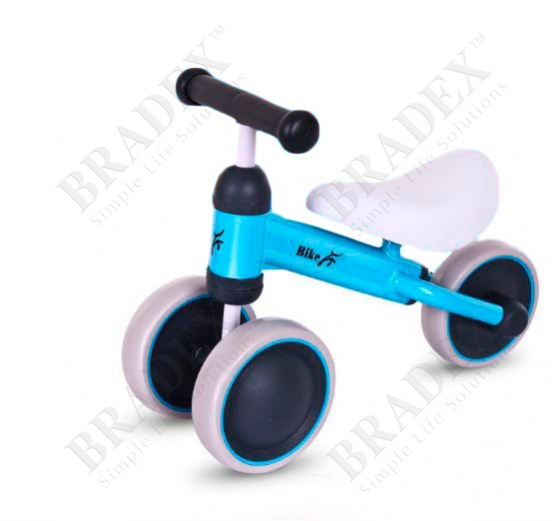 Каталка детская «движение» голубой (hd-150 whirlee)
