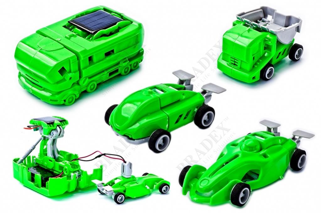 Конструктор на солнечной батарее 7 в 1 с электростанцией (7 in 1 solar toy)