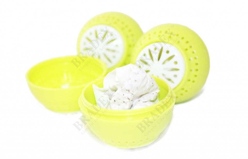 Поглотитель запаха в форме шарика «свежесть» (fridge balls)