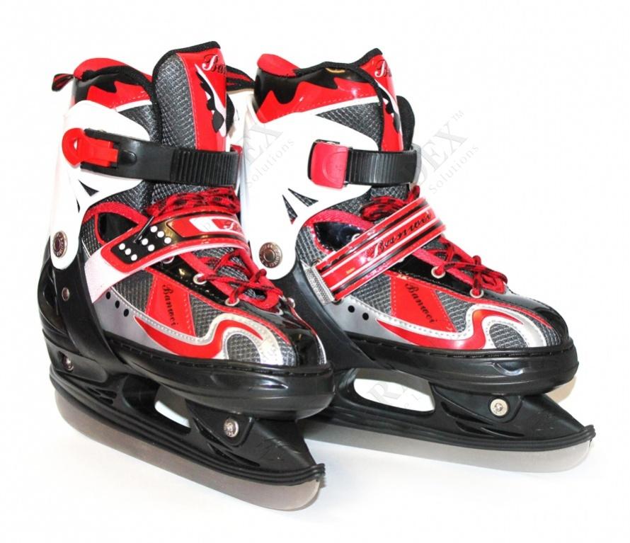 Коньки для активного отдыха раздвижные, размер 40-44 (skates with adjastable size, 40-44)
