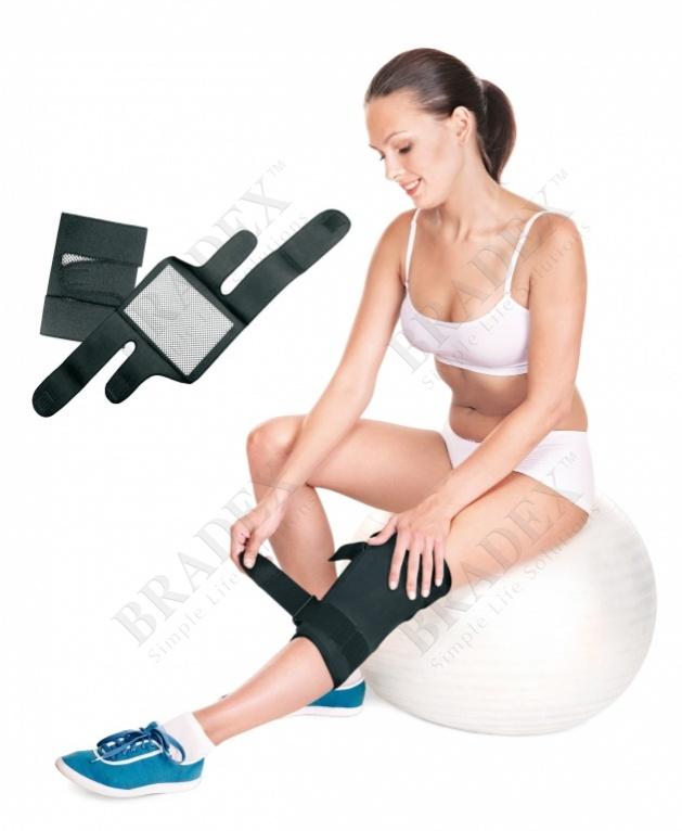 Наколенники турмалиновые с магнитными вставками, 2 шт. (knee support ( set of 2pcs))