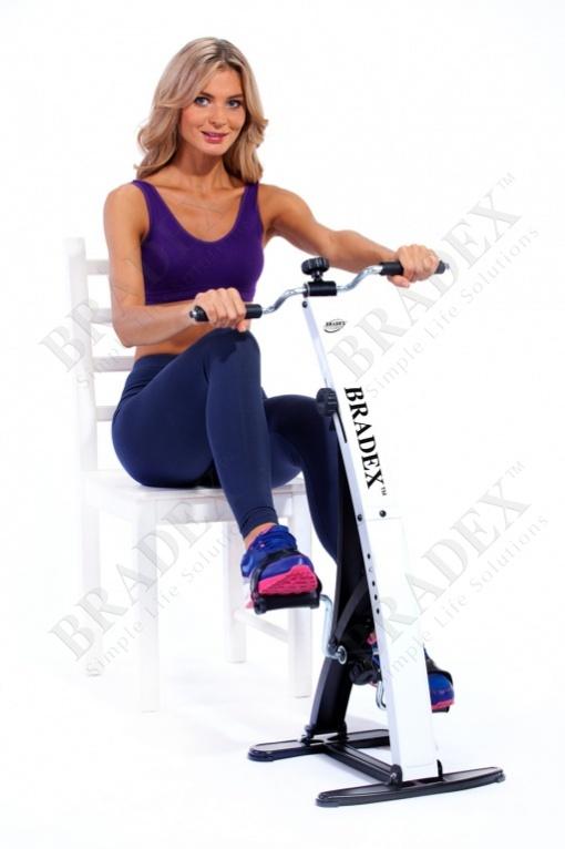 Тренажер педальный для ног и рук «дуал байк» (dual bike)