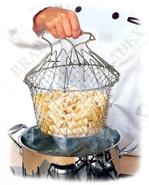 Решетка для приготовления пищи «шеф баскет» (cooking net chef basket)