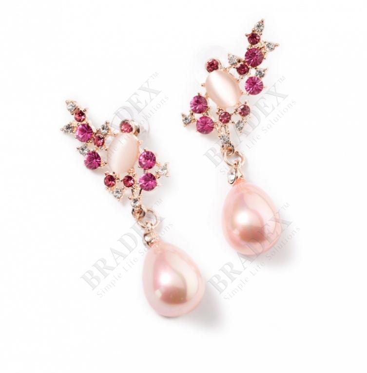 Серьги «пурпурный соблазн» (earrings)