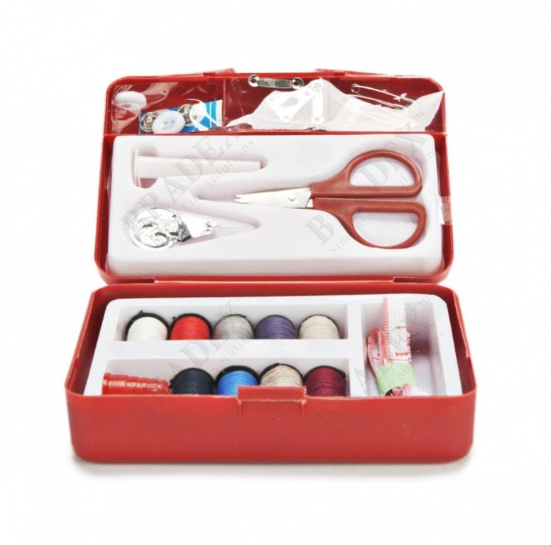 Набор швейный дорожный «стежок» sewing kit one second needle купить оптом
