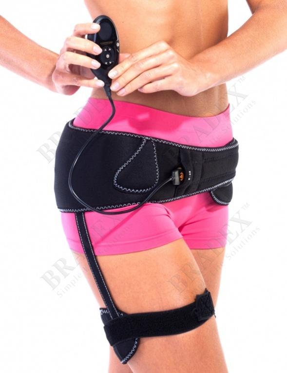 Миостимулятор для тренировки бёдер и ягодиц «бьюти шейпс» (the flex belt women's flex mini thigh and butt toning belt)