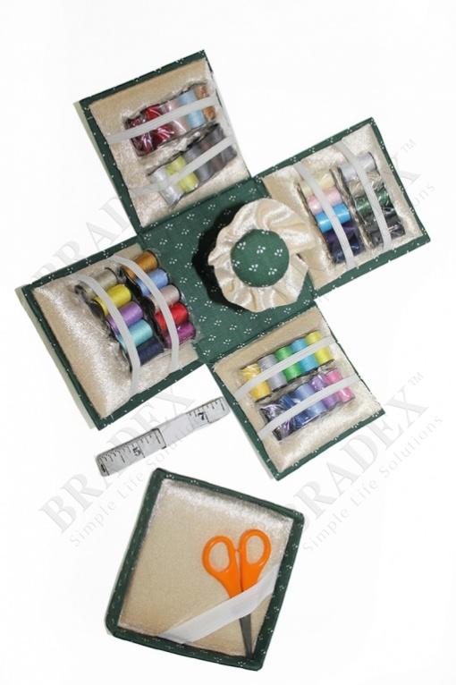 Набор для шитья из 70-ти предметов «швея» (70-pc sewing cube)