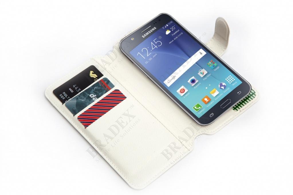 Чехол-книжка универсальный для телефона, белый 15,7*8 см (flip-open cover phone case, white, 15,7*8 cm)