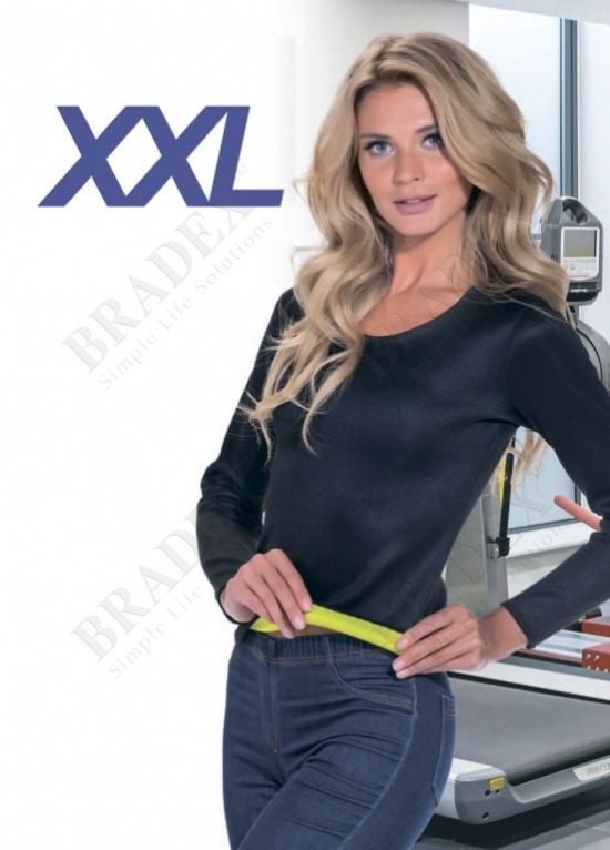 Футболка с длинным рукавом для похудения «хот шейперс», размер xxl (t-shirt with long sleeves, xxxl)