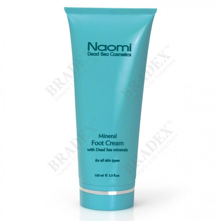 Крем для ног с минералами мертвого моря «naomi» 100 мл (mineral foot cream)